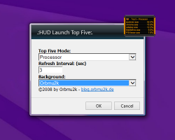 hud launch settings