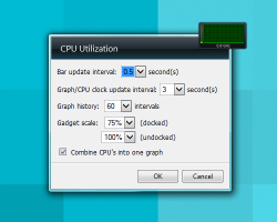 CPU Utilization settings