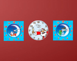 Christmas Clock gadget