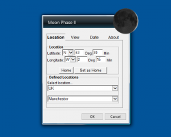 Moon Phase II settings