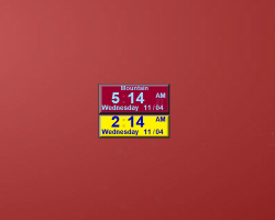 Where can I find the AGS digital multi clock for the vista sidebar
