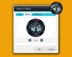 Casio G-Shock settings