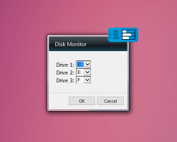 Disk Monitor settings