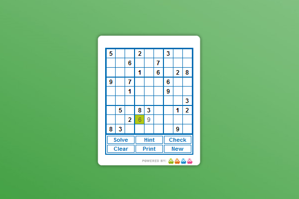 sudoku puzzles gadget for windows 10 win10gadgets