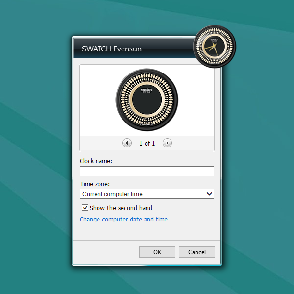 how to add swatch on in design